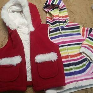 1 kids jacket 1 kid vest